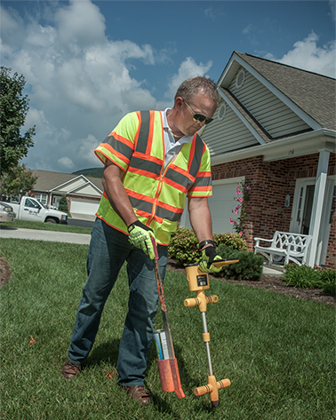 Underground Utility Locating protects lives and property. Using cutting-edge technology S&N pinpoints underground utility lines prior to any excavation efforts.